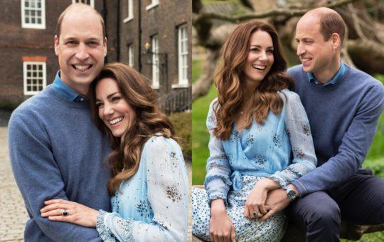 William en Kate vier 10de huweliksherdenking (Foto's: Instagram)