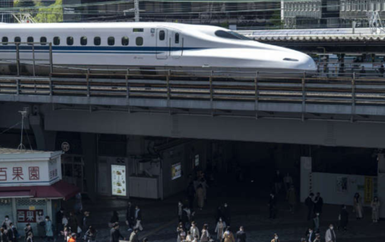 Japan bullet train driver left controls for other high-speed pursuit