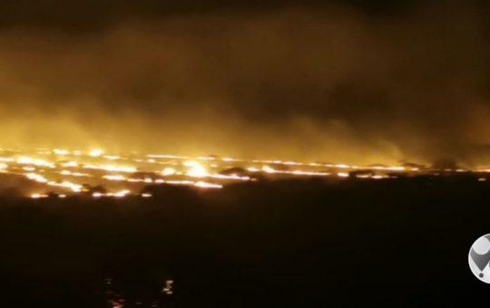 Brande op Douglas-pad woed voort